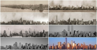 new york skyline through the years